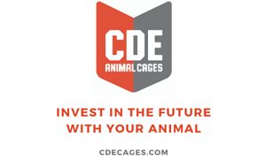 CDE animal cages logo
